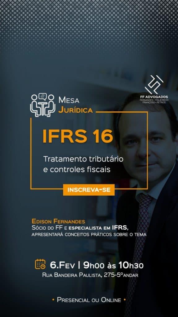 Palestra sobre IFRS16